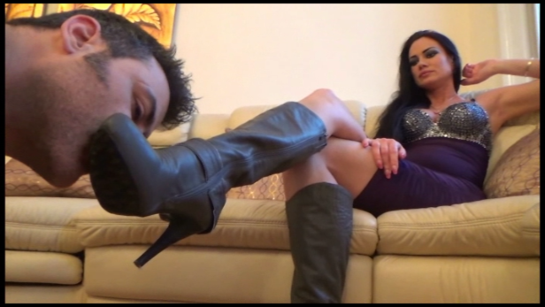Artemis – Boot Worship and Financial Domination PART1