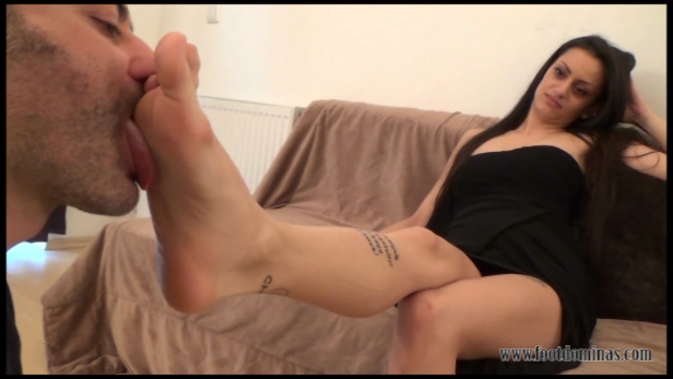 Chanel – Foot Domination Part1