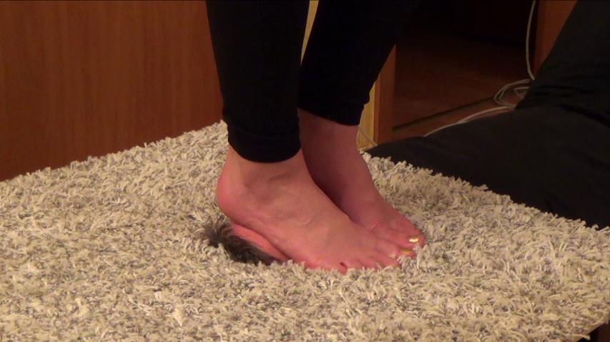 SAKURA – 'Anti-stress Device' – Foot Domination CLOSE UP PART1