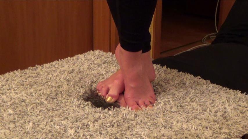 SAKURA – 'Anti-stress Device' – Foot Domination CLOSE UP PART2