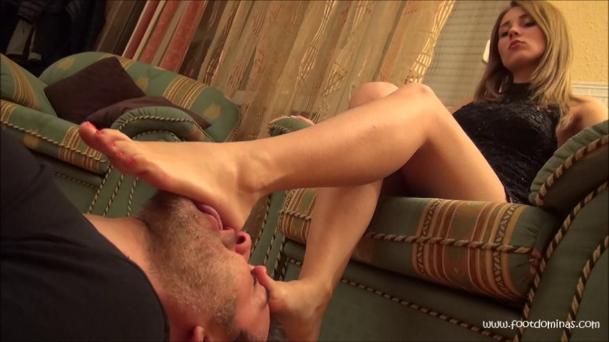 GABRIELLA – Foot Worship After The Party PART2