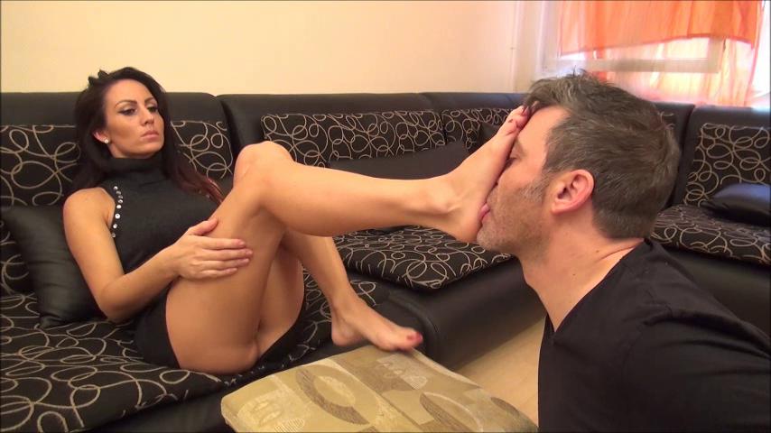 OLIVIA – I Make You My Footbitch! PART2