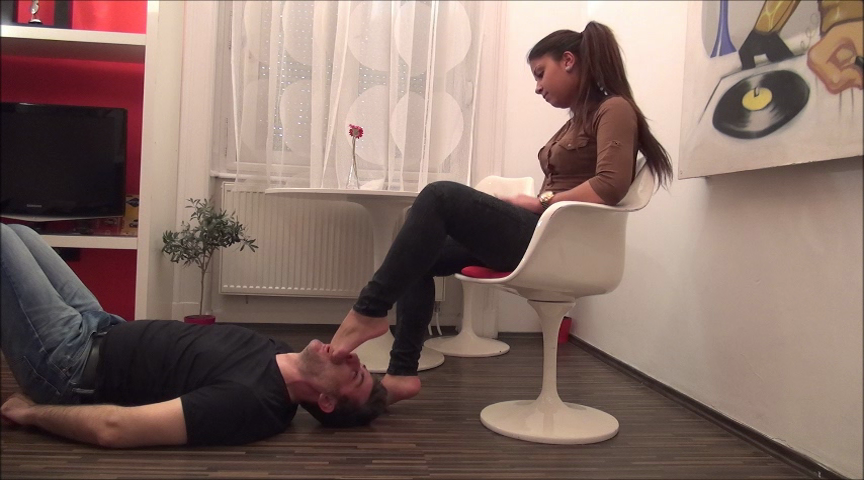 JULIANA – Under My Feet – PART5 – Hard Foot Domination