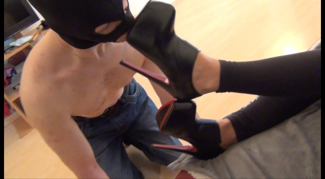 JANE – 'Just Pathetic' – Short Boots Shinning with Tongue PART2
