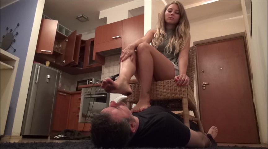 GABRIELLA – Lick My Dirty Feet Clean, Slave!